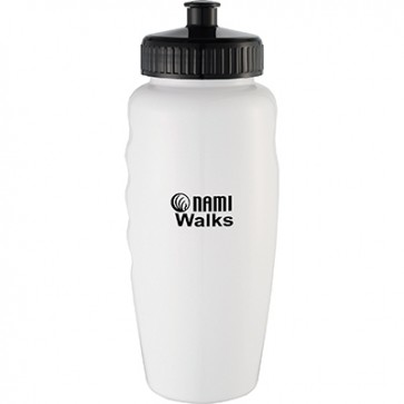 NAMIWalks WaterBottle#2 - lids attached (min QTY 50)