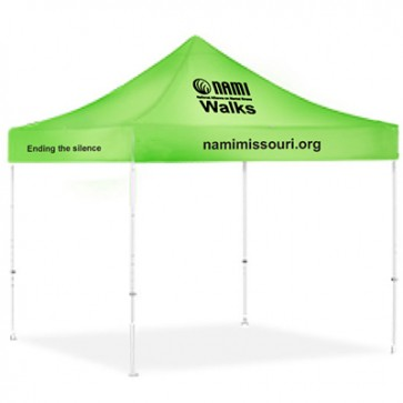 NAMIWalks Full Color Tent 10' x 10'