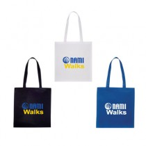 NAMIWalks Shopping Tote Bag #2 - stacked logo