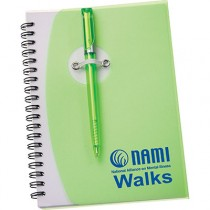 NAMIWalks Spiral Notebook #4 with pen