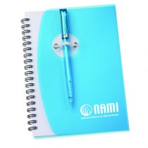 NAMI Spiral Notebook #4 with pen