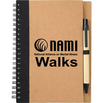 NAMIWalks Spiral Notebook #5 with pen