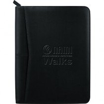 NAMIWalks Soft Zippered Padfolio