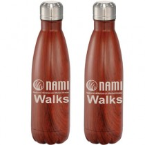 NAMIWalks  Native Wooden Copper Vacuum Insulated Bottle 17oz