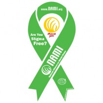 NAMI Ribbon Magnet Green