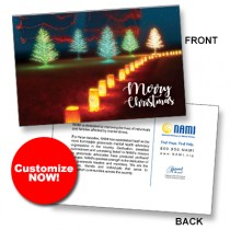 CUSTOM Perfect Holiday Lighted Trees (min 25) Spread the Word TM