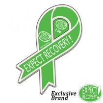 EXPECT RECOVERY! Car Ribbon Magnet