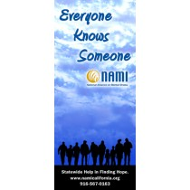 Everyone Knows Someone - Retractable Banner