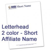 NAMI Letterhead (Short Affiliate Name)
